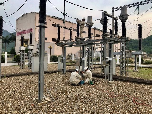 Sê San 3A thực hiện dịch vụ thí nghiệm thiết bị điện các NMTĐ