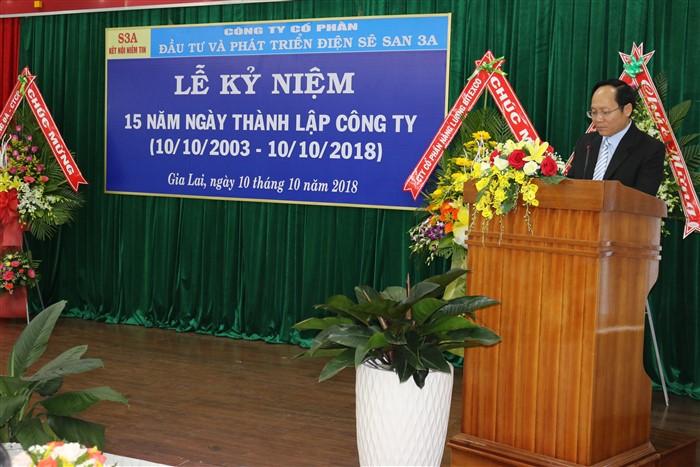 Sê San 3A kỷ niệm 15 năm thành lập Công ty