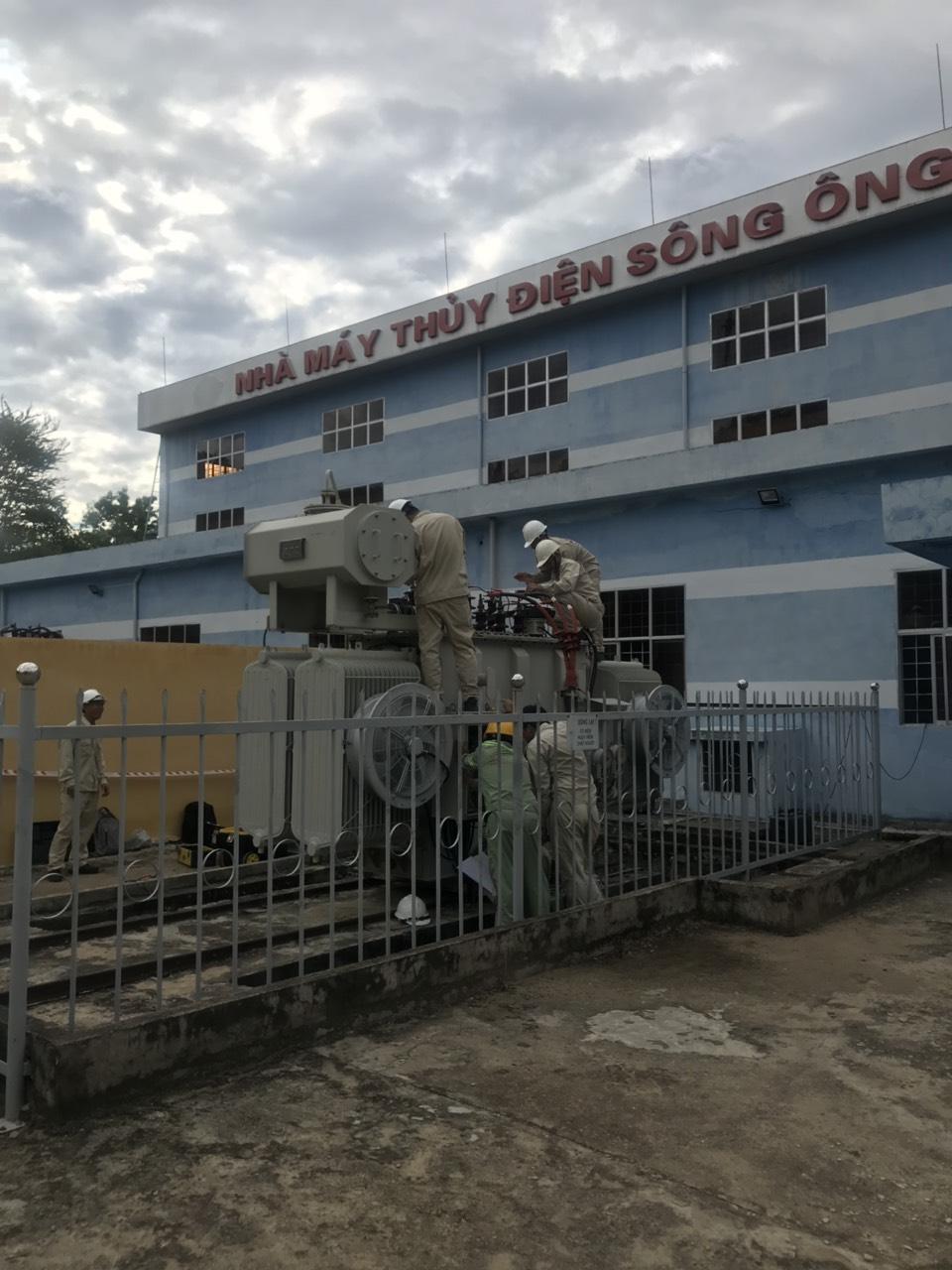 Sê San 3A thực hiện dịch vụ sửa chữa trung tu NMTĐ Sông Ông