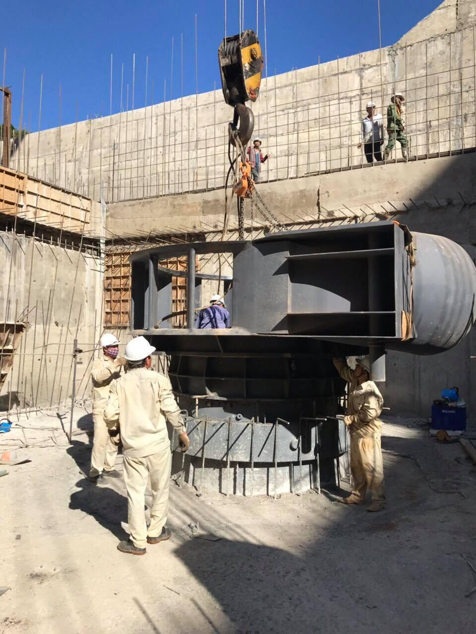 Sê San 3A thực hiện dịch vụ lắp đặt, thí nghiệm, hiệu chỉnh hệ thống thiết bị cơ, điện đồng bộ nhà máy và trạm biến áp 110kV, đào tạo vận hành tại nhà máy thủy điện Đăk Glun2