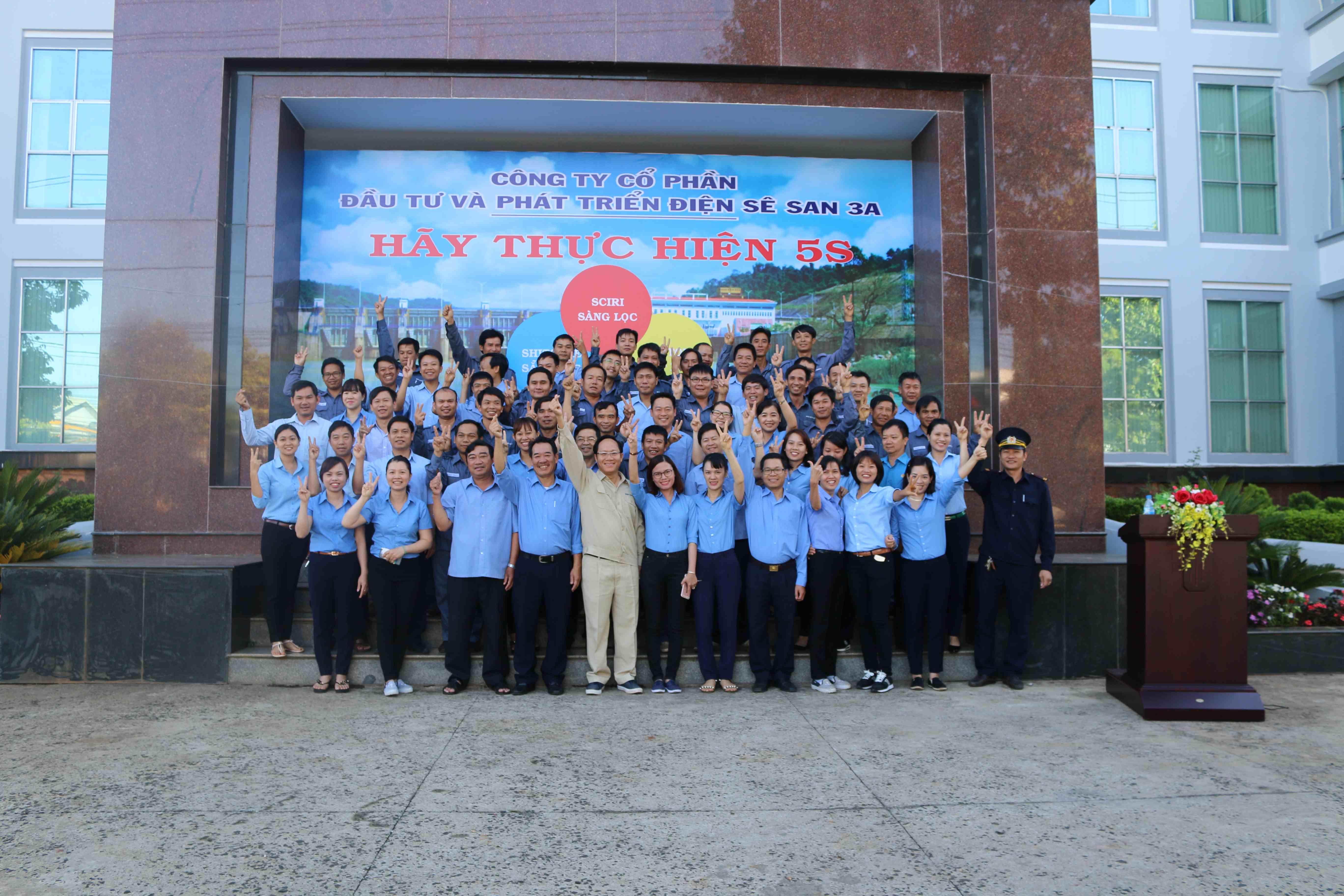Tổng kết các hoạt động của Sê San 3A năm 2018