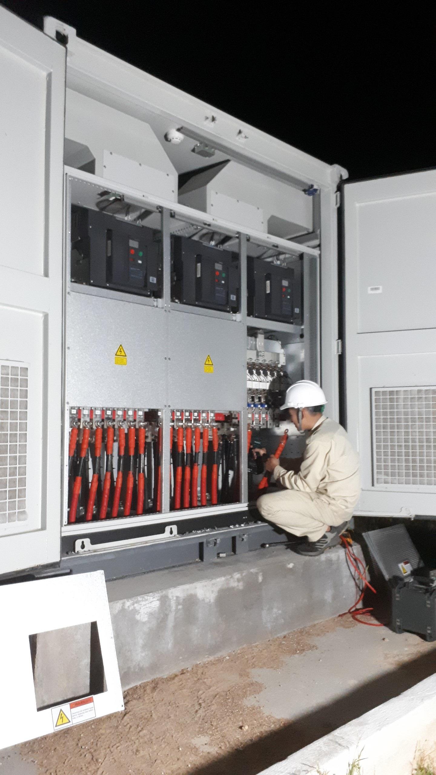 Sê San 3A thực hiện dịch vụ thí nghiệm Dự án điện mặt trời Nhị Hà