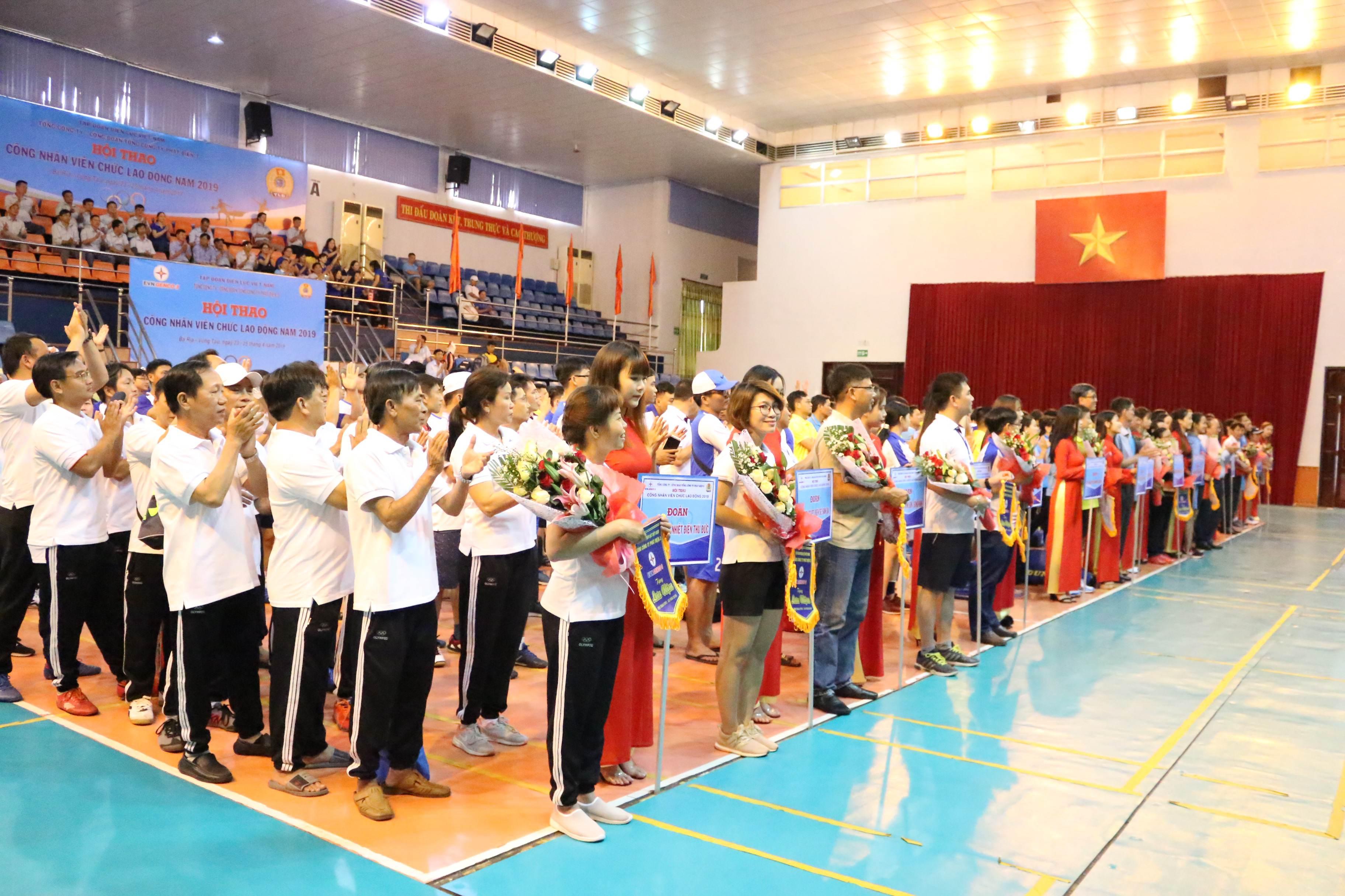 Sê San 3A tham dự Hội thao công nhân viên chức lao động Tổng công ty Phát điện 3 năm 2019
