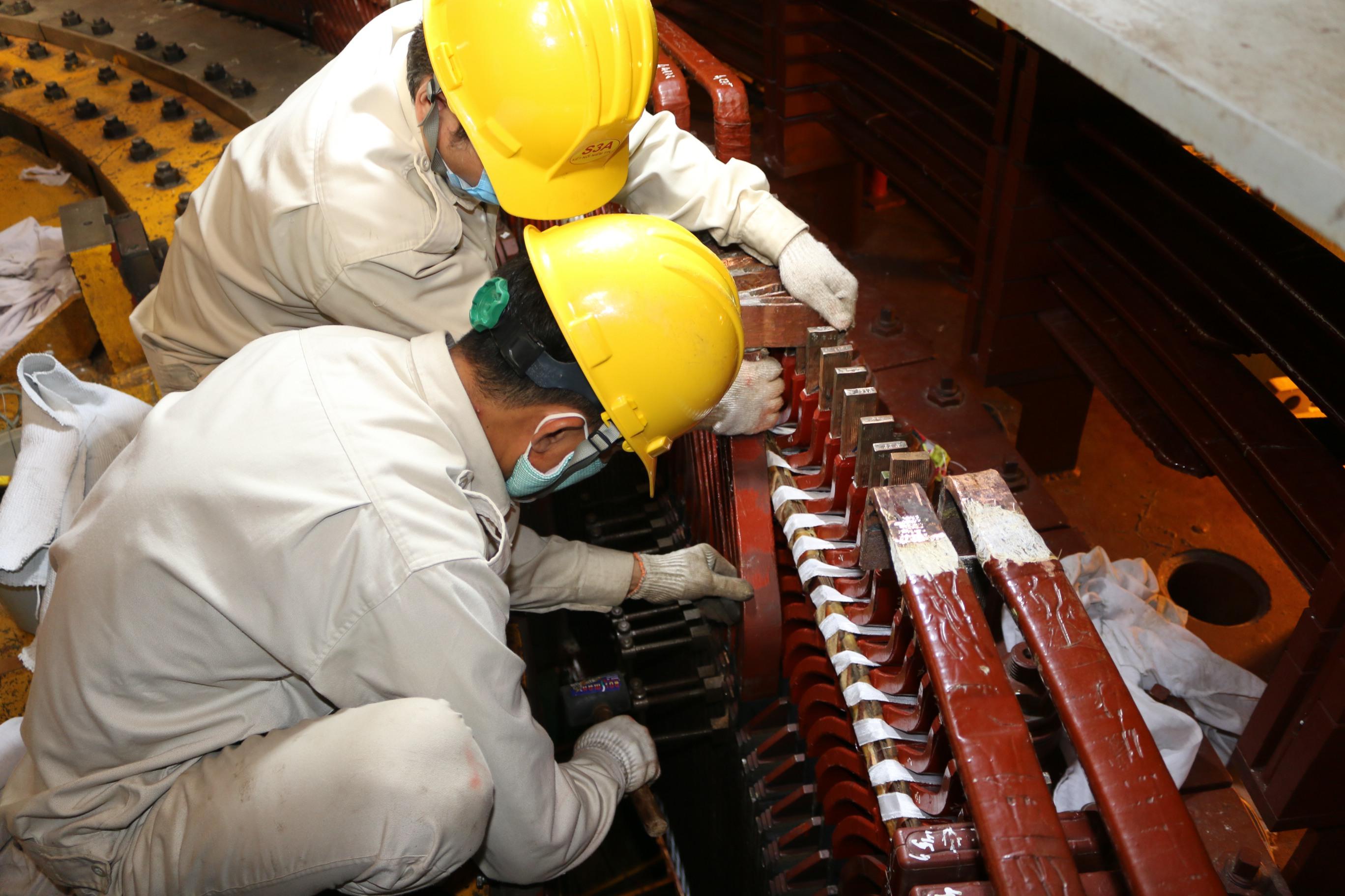 Sê San 3A lần đầu tự xử lýhỏng cách điện thanh dẫnnhà máy thủy điện
