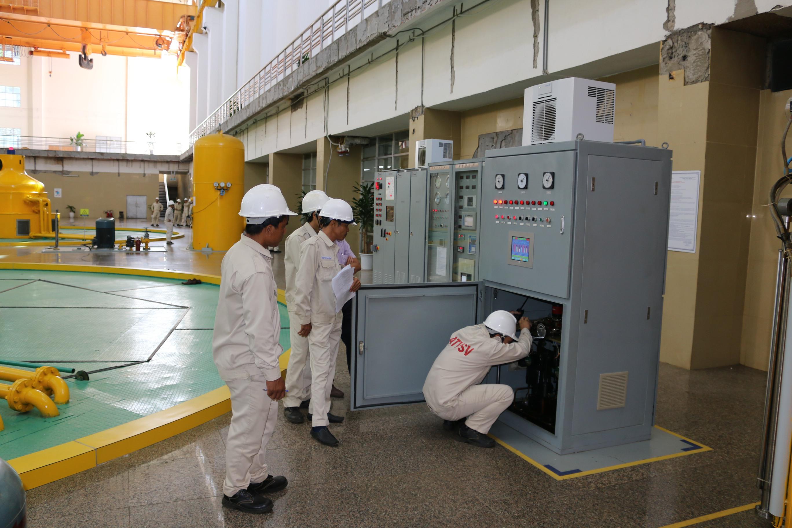 Sê San 3A diễn tập xử lý sự cố thiết bị quý III/2019