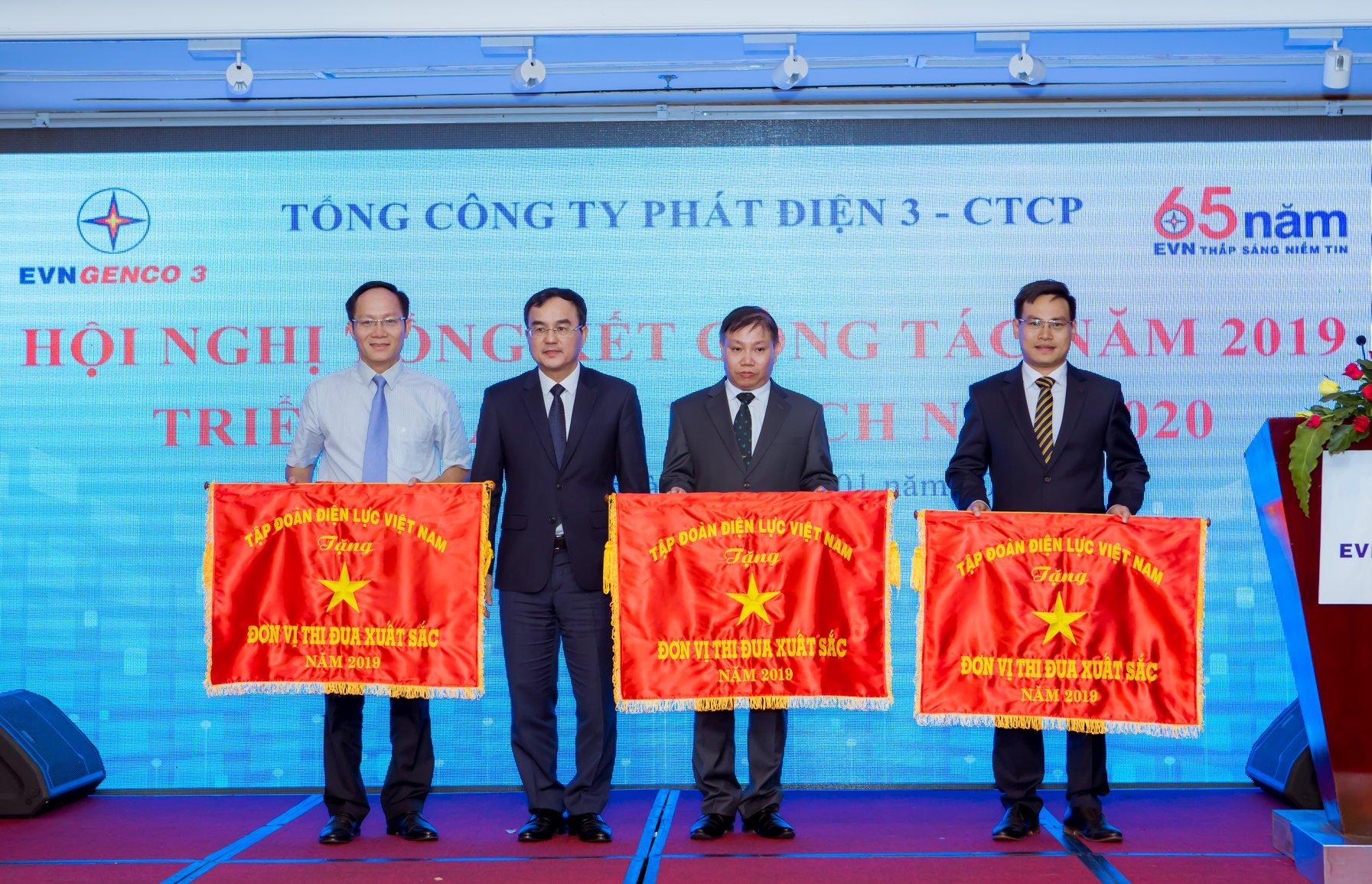 Sê San 3A - đơn vị thi đua xuất sắc năm 2019 Tập đoàn điện lực Việt Nam