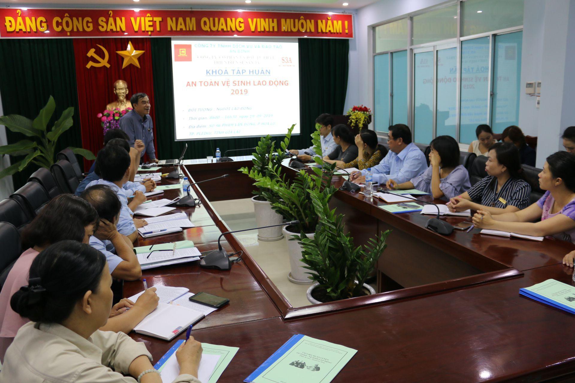 Sê San 3A huấn luyện An toàn – vệ sinh lao động cho người lao động thuộc nhóm 4