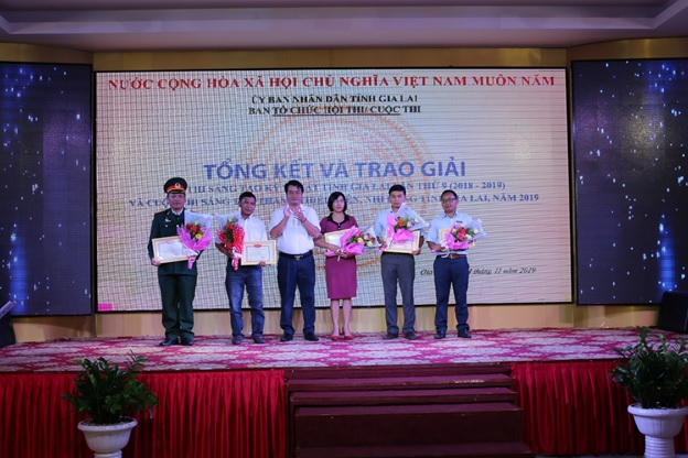 Giải pháp sáng tạo kỹ thuật của các kỹ sư Sê San 3A đạt giải tại Hội thi sáng tạo kỹ thuật tỉnh Gia Lai lần thứ 9 (2018-2019)