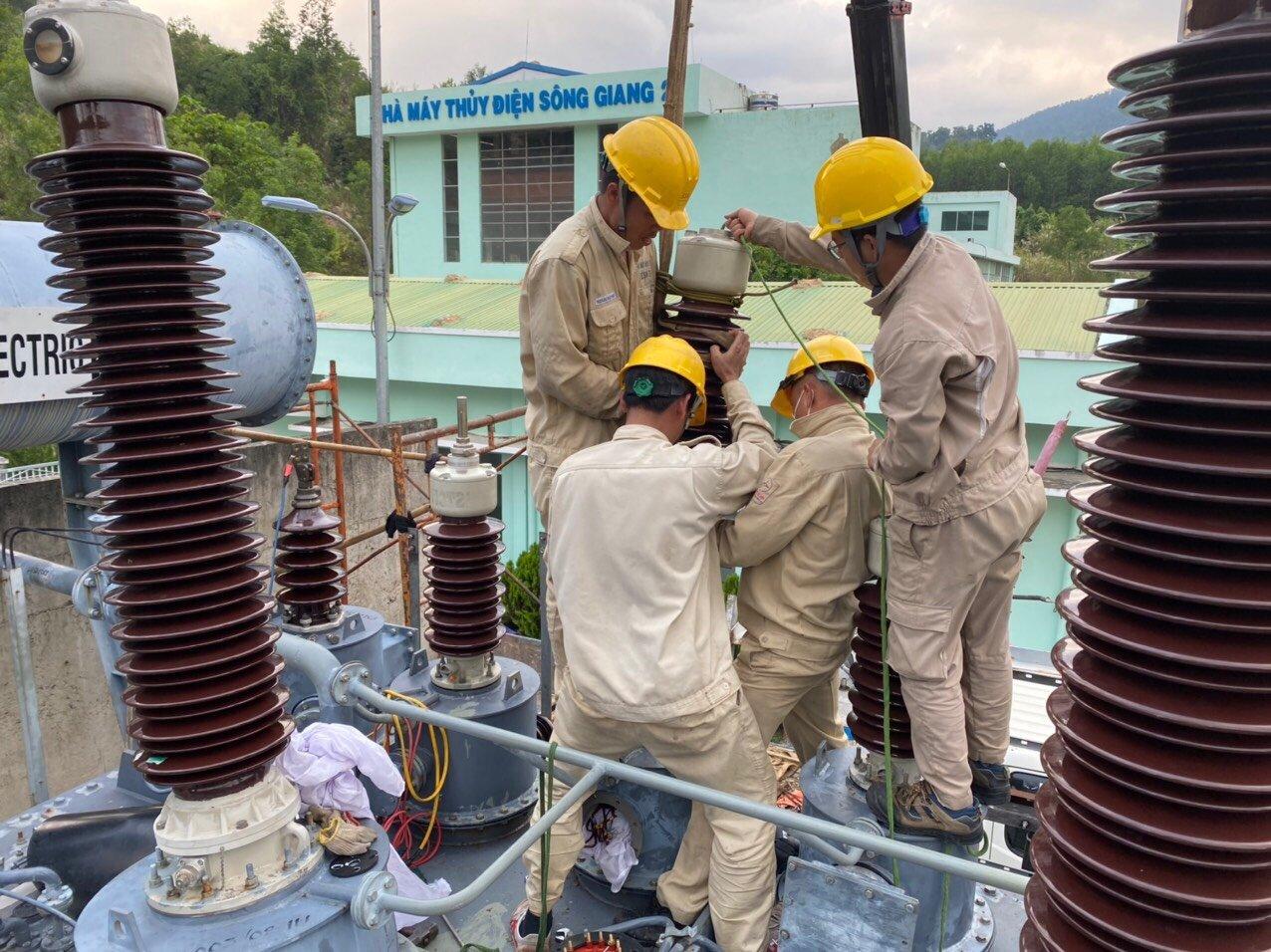 Sê San 3A thực hiện dịch vụ đại tu NMTĐ Sông Giang 2