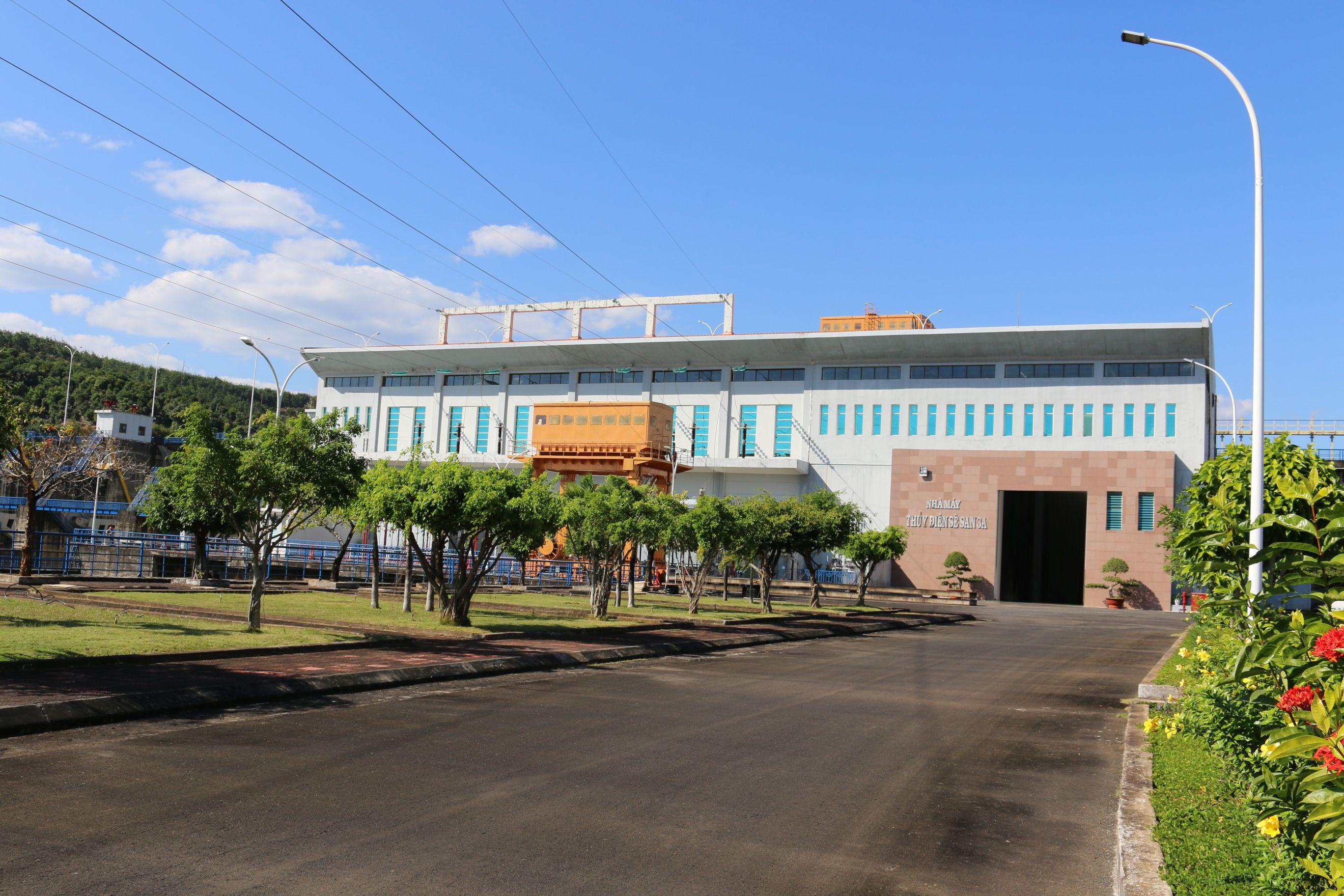 Nhà máy thủy điện Sê San 3A đảm bảo nước cho hạ du