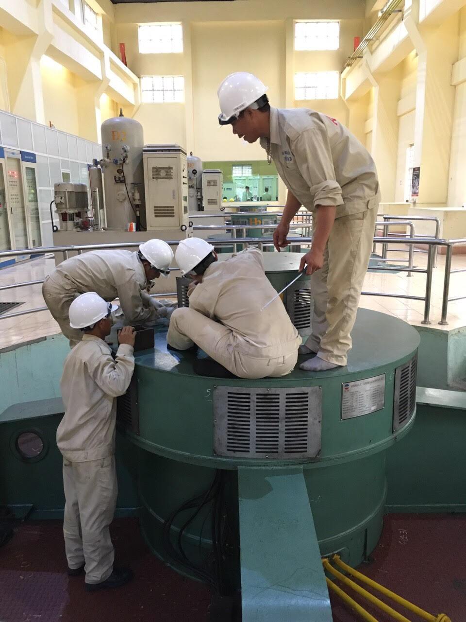 Sê San 3A hoàn thành dịch vụ trung tu sửa chữa, bảo dưỡng định kỳ thiết bị Nhà máy thủy điện Sông Ông