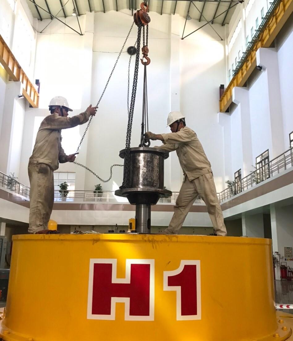 Sê San 3A hoàn thành công tác bảo dưỡng định kỳ tổ máy H1 năm 2021