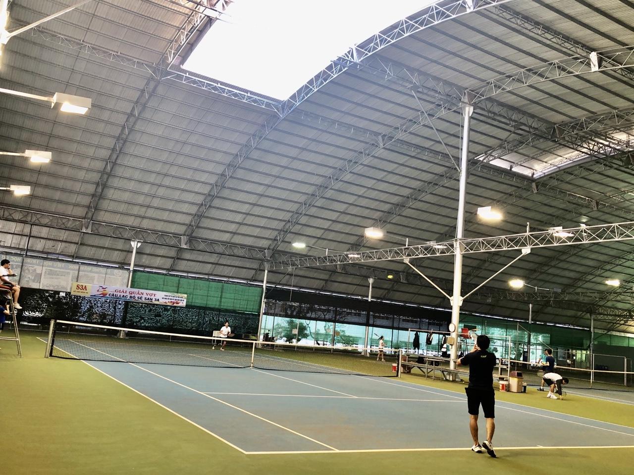 Giải quần vợt tranh cúp vô địch Câu lạc bộ tennis Sê San 3A.