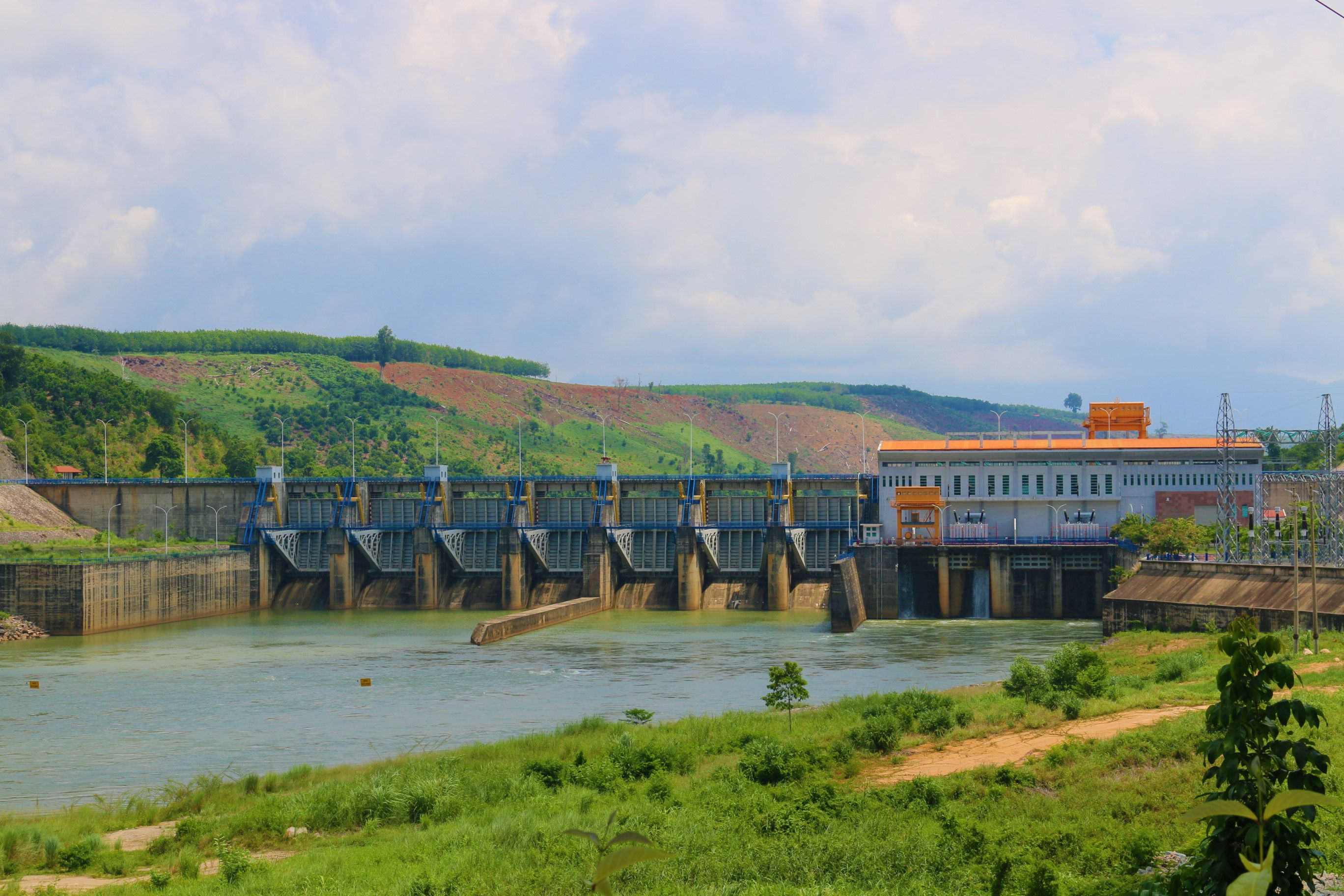 Nhà máy thủy điện Sê San 3A chủ động phòng chống thiên tai