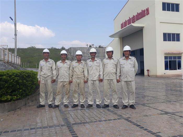 Sê San 3A thực hiện dịch vụ sửa chữa tại nhà máy thủy điện ĐăkSrông 2A