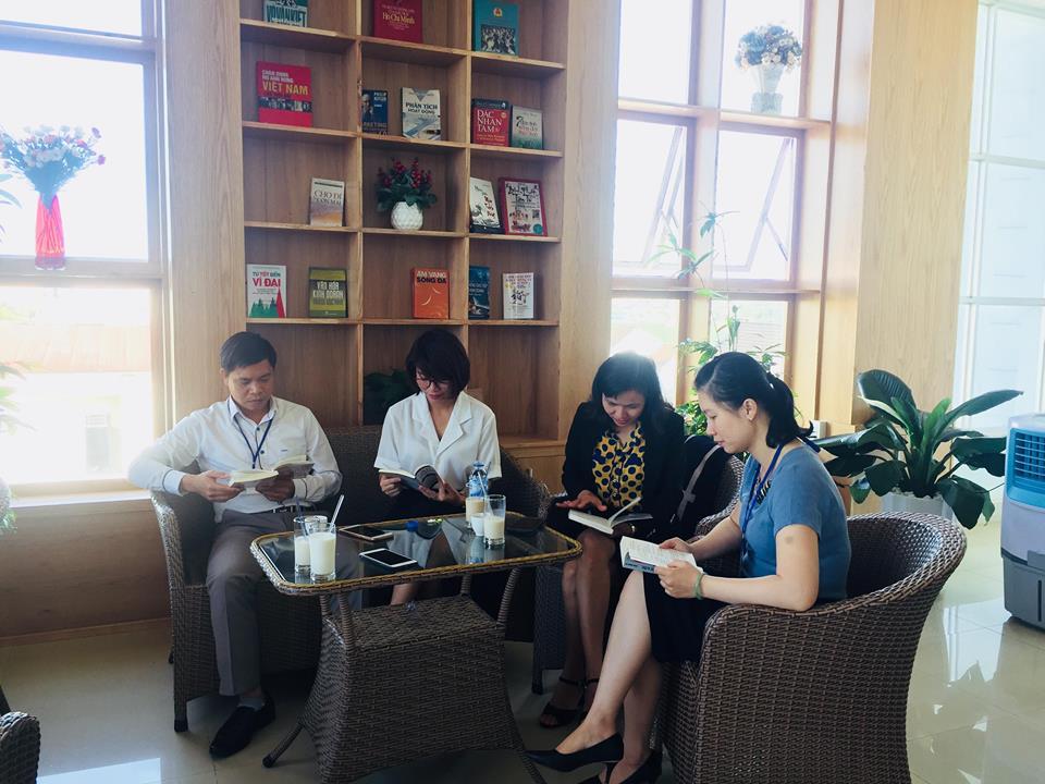 Phát triển văn hóa đọc trong Công ty