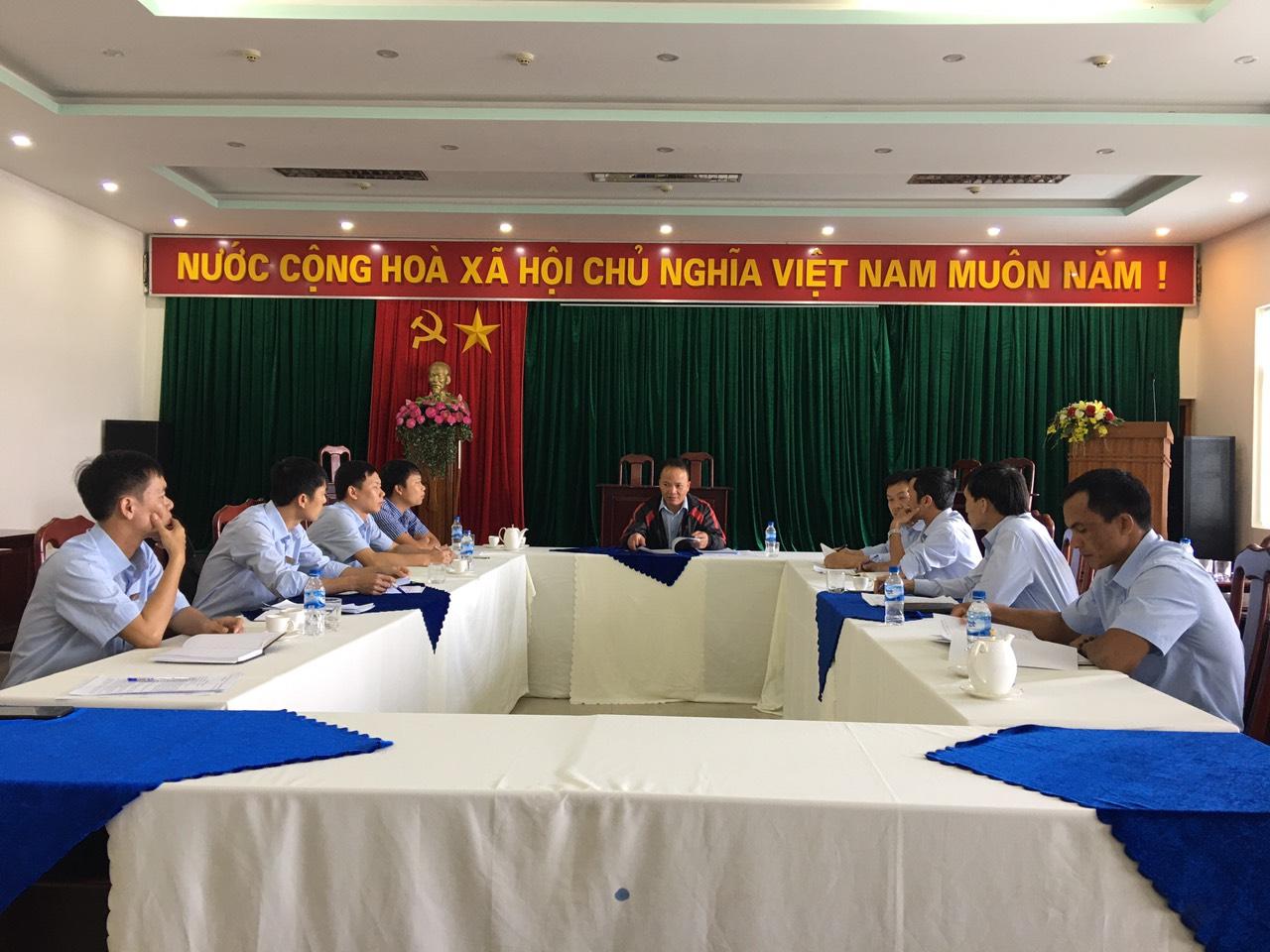 Các Chi bộ trực thuộc Đảng bộ Công ty cổ phần Đầu tư và phát triển điện Sê San 3A tổ chức kiểm điểm, đánh giá, xếp loại chất lượng tổ chức Đảng, đảng viên năm 2019.