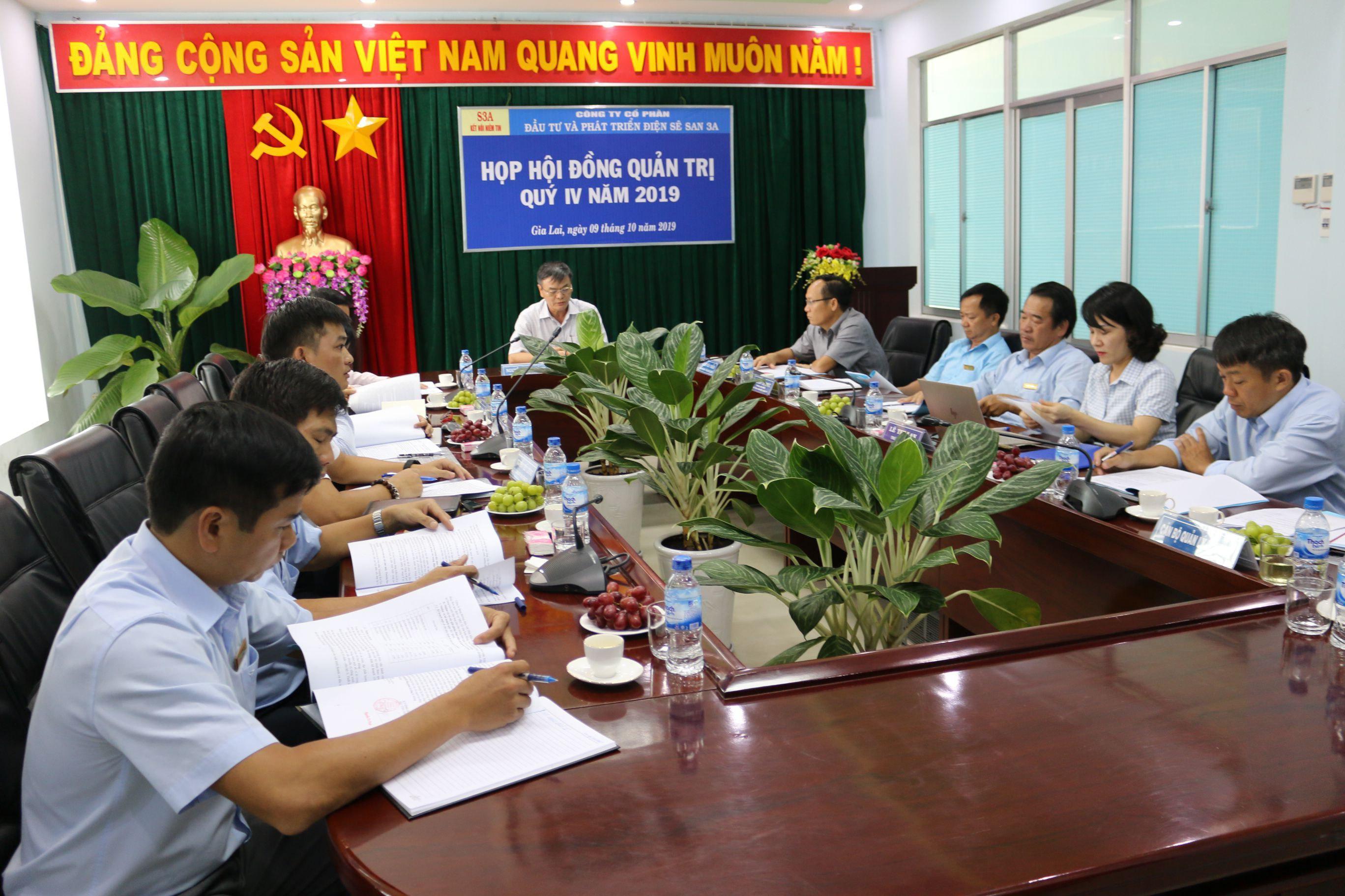 Sê San 3A hoàn thành kế hoạch 09 tháng đầu năm 2019