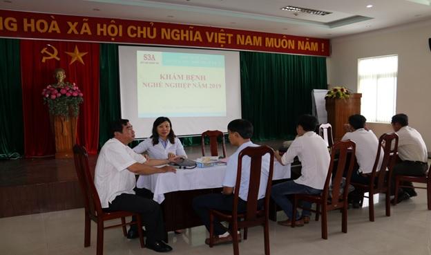 Sê San 3A tổ chức khám sức khỏe bệnh nghề nghiệp cho người lao động trực tiếp sản xuất