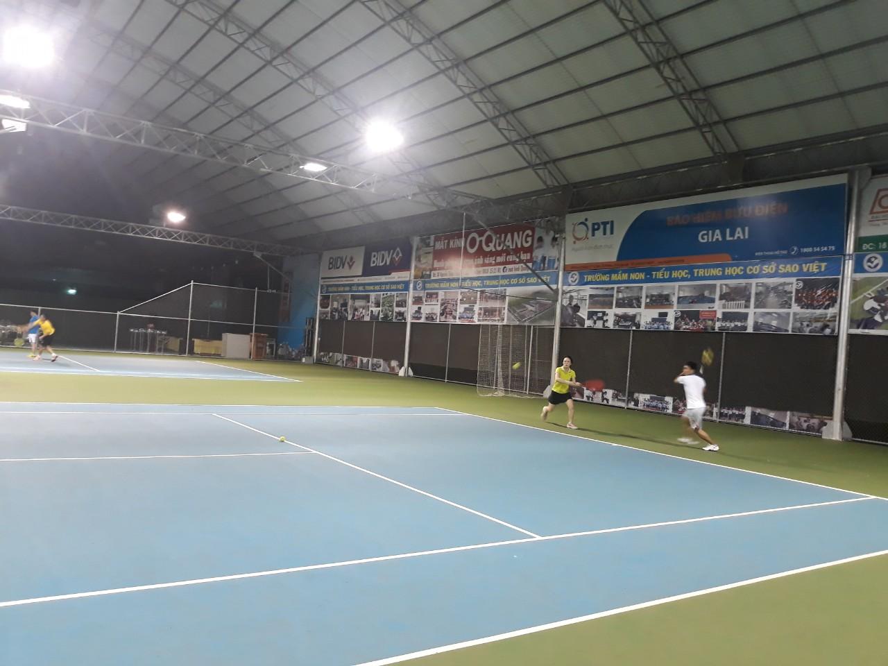 Tennis - môn thể thao bổ ích cho sức khỏe