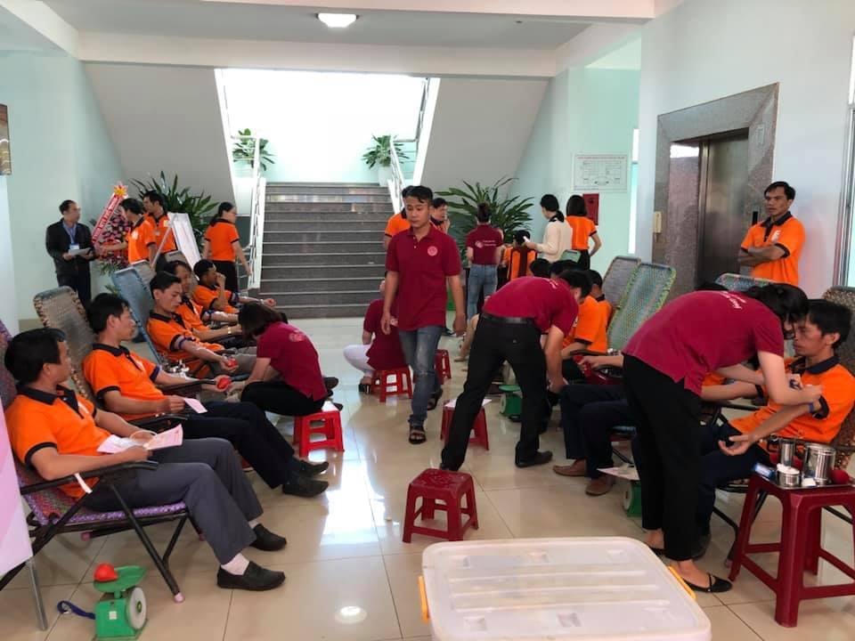 Sê San 3A hưởng ứng chương trình hiến máu nhân đạo năm 2018