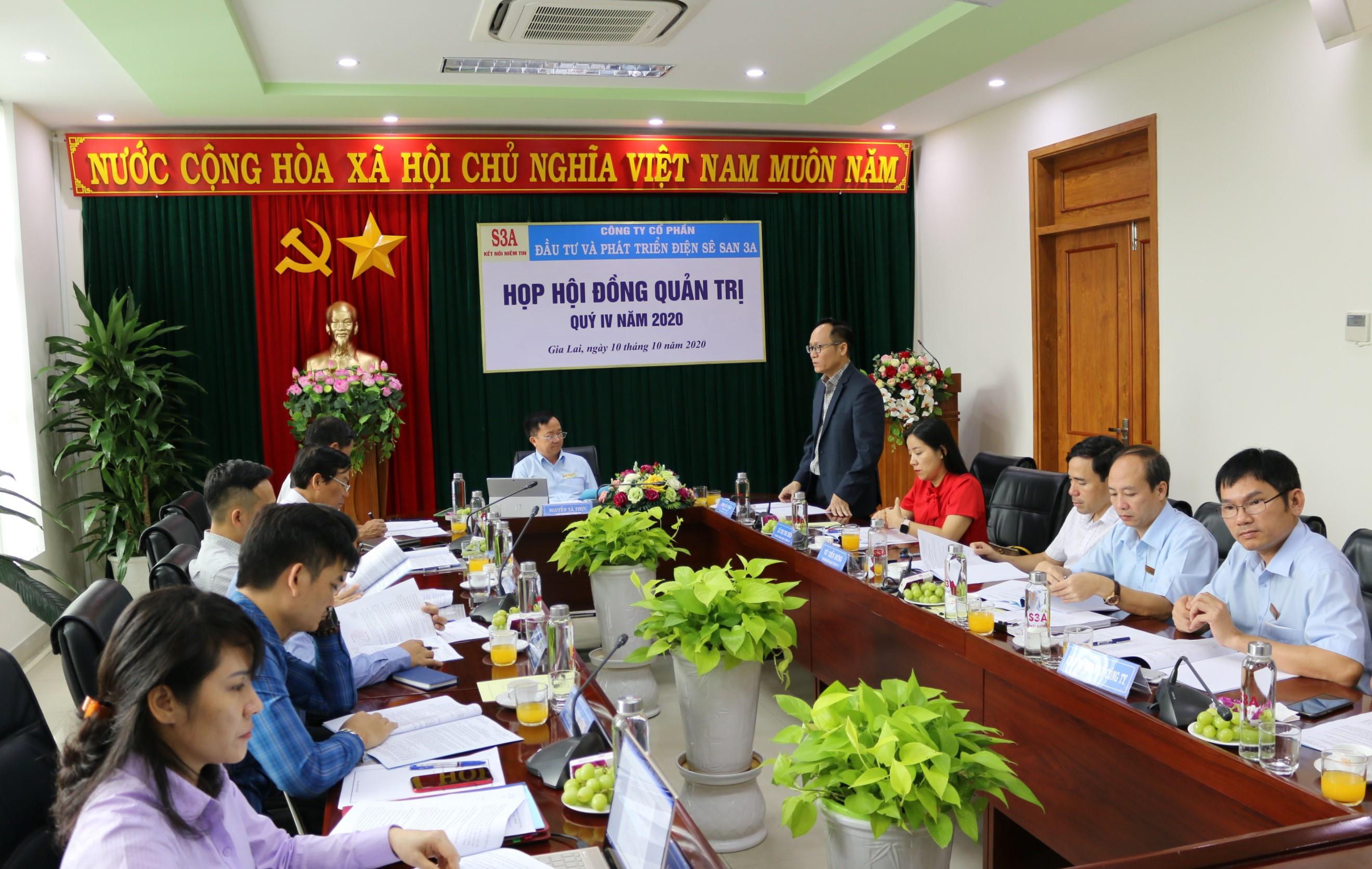 Các giải pháp để Sê San 3A hoàn thành kế hoạch năm 2020